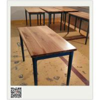 红酒餐厅实木餐桌 深圳横岗聚焦美加工厂,简约现代风格