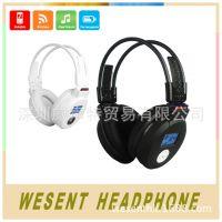 厂家直销插卡礼品耳机 运动型MP3 头戴式无线立体声耳机 MJ-168