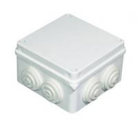 100*100*70mm塑料接线盒防水盒 带橡皮塞端子分线盒