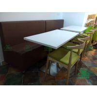 专业定制高档茶餐厅家具 大理石茶餐桌