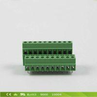 PCB欧式接线端子台 3.5间距双层焊接式接线端子 厂家直销