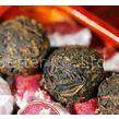 Organic Pu Erh Mini Tuo Cha , Cooked Yunnan Puer Tea Cake With Powerful Flavor
