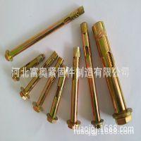 河北富奥专业生产 六角螺杆套管壁虎 膨胀螺丝螺栓
