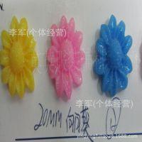 厂家销售 树脂花 向日葵树脂花 树脂玫瑰花 鞋花