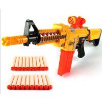 2-7儿童玩具枪 可连发软弹枪  仿真弹枪 电动软弹枪 软蛋枪