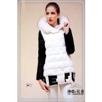 品牌冬装批发羽绒服加盟品牌女装到诗伦