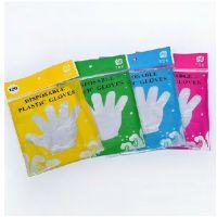 批发一次性卫生手套 一次性手套 家务手套 彩袋100只装