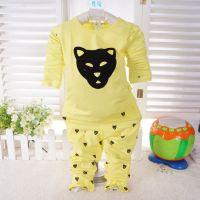 2014新款儿童礼盒内衣90-110码小袋鼠豹头时尚莱卡超柔套D15011