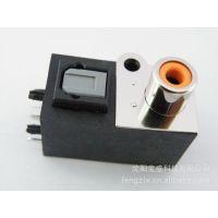 供应原装进口 AV+CQ光纤端子连接器插座橙色 av数字音频 音频光纤插座