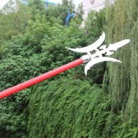 厂家直销 火爆热卖方天画戟 武术锻炼使用刀剑演戏道具 工艺品