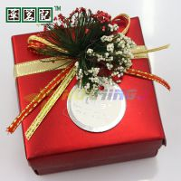 批发婚庆结婚用品纸盒喜糖盒子婚礼糖果盒方形精美礼盒 大红色
