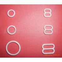 供应内衣塑料扣,塑料环,塑料089字扣,塑料调节扣,内衣配件,8环,