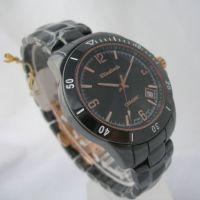 供应精品推荐 EG68038BR丹士顿陶瓷手表批发 高品质男士品牌手表 量多优惠