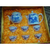 铜川彩瓷茶具定制厂家直供