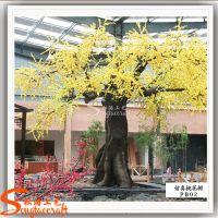 直销仿真桃花树 大型环保桃花树 高级会所专用装饰仿真树