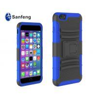 站立式防摔背夹滑套 iPhone6 plus二合一可支撑手机保护外壳批发