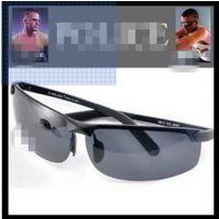 时尚明星款6812高档太空铝合金眼镜 运动户外墨镜 男士偏光太阳镜