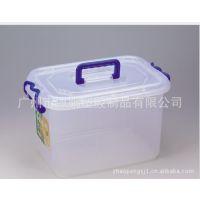 广州生产防潮防蛀手提式多功能滚动塑料储物箱/整理箱