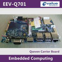 Qseven架构主板#安勤EEV-Q701嵌入式无风扇3.5寸微型电脑载板