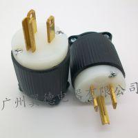 供应美式插头YD5-15P NEMA插头环保材质 美标工业插头 厂家直销价