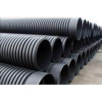 济南PE双壁波纹管厂家价格表,排水工程PE双壁波纹管供应
