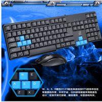 供应新口上市追光豹Q8B 有键盘鼠标套装游戏键盘 电脑有线键鼠套装