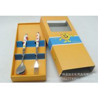 高级筷子勺子叉子西餐餐具套装盒子定做