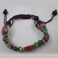 供应手饰·手链(图)金雅工艺玻璃手链 多种造型男女通用手链