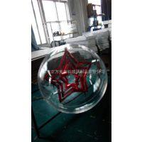 厂家直销亚克力圣诞装饰球 有机玻璃吹塑制品