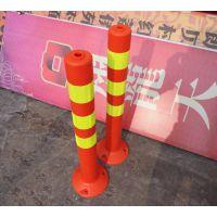 供应工厂直销PVC塑胶警示柱、塑料反光柱、防撞柱、道路隔离警示柱