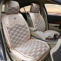 供应厂家直供新款四季通用汽车坐垫夏季皮革冰丝座垫批发代发HC0078
