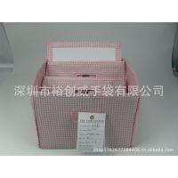深圳手 袋厂 专业生产 拿样生产 高档收纳箱 折叠收纳盒