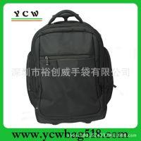 深圳厂家加工生产拉杆背包 拉杆书包 1680D拉杆旅行背包 欧美流行
