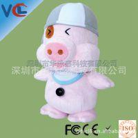 工厂直销猪猪摄像头 电脑周边私模款式VCL品牌数码摄像头