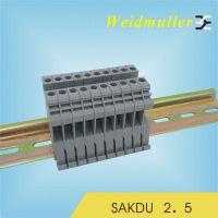 供应魏德米勒 接线端子排 SAKDU2.5 正品保障