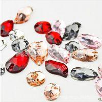 仿台亚克力钻 平底宝石钻 手工钻  环保异形手缝钻 服装饰品