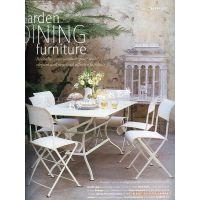 滢发 欧式 铁艺桌椅 创意餐桌椅 一桌六椅 餐厅桌椅 可定做 批发