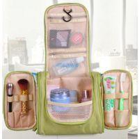 新款创意挂式钩双开洗漱包 大容量多功能防水出差旅行收纳化妆包