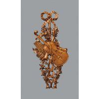 出口品质欧法式仿古金色小提琴造型壁挂壁饰装饰挂件墙饰墙挂