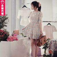 连衣裙一件代发 免费代理代发货网上开店 服装代销网店女装代理
