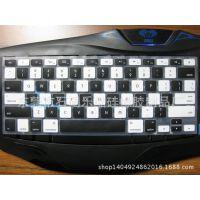 特供硅胶键盘套创意新款卡通韩版印刷夜光透明硅胶键盘套厂家直销