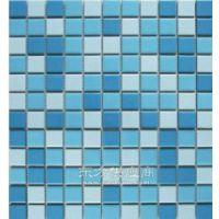 【供应游泳池专用马赛克瓷砖-3色蓝陶瓷马赛克厂家直销】