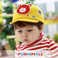 FUNNIMALS 新款卡通儿童帽子 凡尼动物鸭舌帽 可爱宝宝帽子婴儿帽