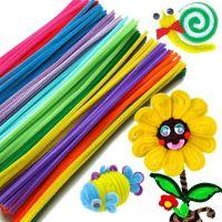 儿童益智玩具 手工制作 幼儿园手工材料 扭扭棒 毛根 毛绒条 毛条