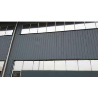 供应上海厂房车间装饰隔热防晒双面银色玻璃贴膜