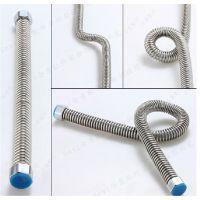 厂家直销迪博士304不锈钢波纹管 热水器硬波软管 4分冷热进水管