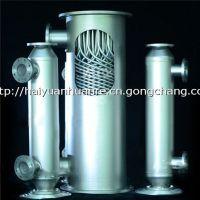 加工定做进节能环保的螺旋螺纹管式换热器|甲醇冷凝器|空压机冷凝器|供暖换热器