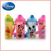 迪士尼 disney儿童吸管塑料水杯 450mL夏天塑料水杯 5688