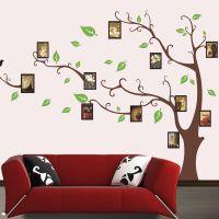 ay803厂家批发直销墙贴纸 创意记忆树照片廊照片相片贴自粘画