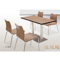 深圳市运达鸿批发订做肯德基餐饮桌椅 火锅餐饮桌椅休闲快餐桌椅